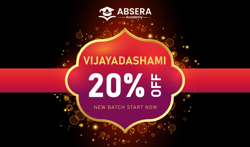 Absera Academy Vijayadhasami Offer Banner